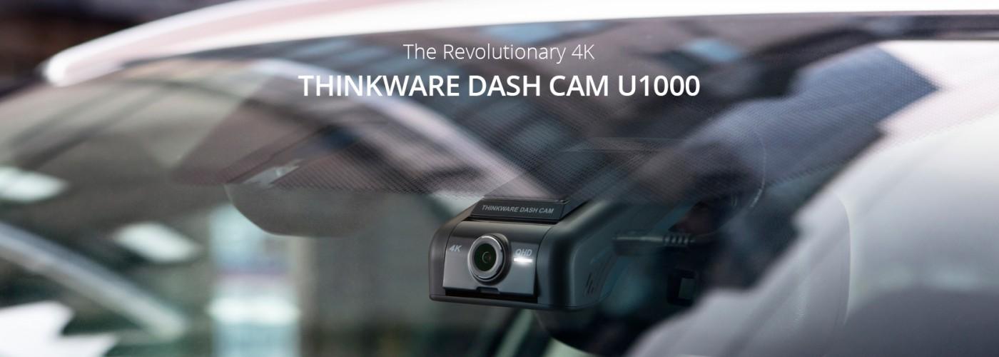 Banner Thinkware Dash Cam U1000
