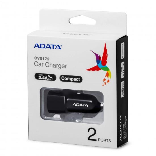 Adata CV0172 Dobbel USB billader