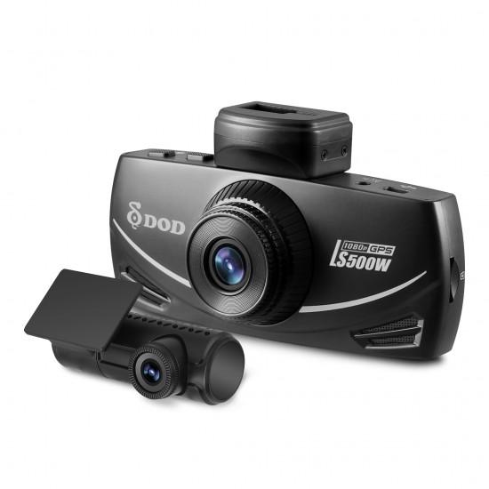 DOD LS500W 2CH - Dashbordkamera med GPS