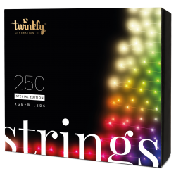 Twinkly Strings 2 Smart julebelysning 250 LED RGB+W