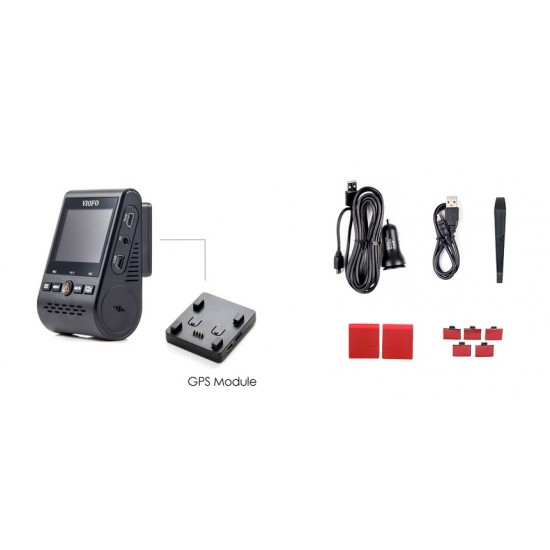 VIOFO A129 Plus 2K QHD dashbordkamera med GPS