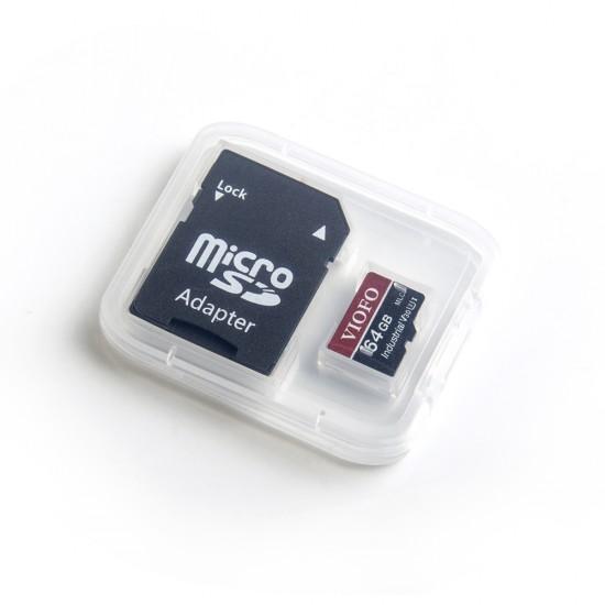 VIOFO 64GB Professional High Endurance MLC UHS-3 MicroSD minnekort