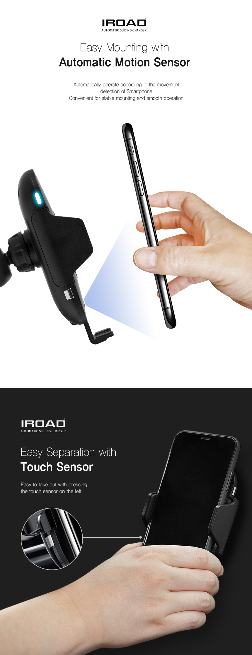 Iroad Wireless Charger